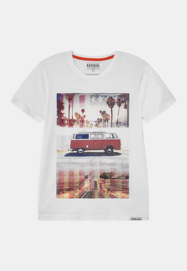 ROADTRIP  - T-shirt imprimé - white