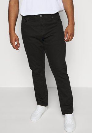 Straight leg jeans - clean black