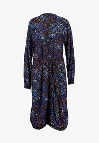 VMLAIA SHIRT DRESS - Shirt dress - mazarine blue/laia