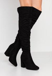 New Look - DELIGHT - Laarzen met hoge hak - black - 0