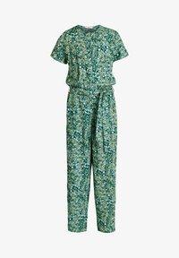 WE Fashion - MET DESSIN - Jumpsuit - dark green - 3