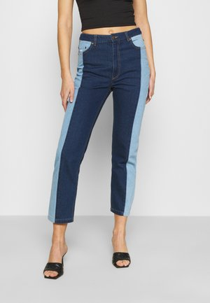 OG BLOCK DENIM PANTS  - Jeansy Relaxed Fit - blue