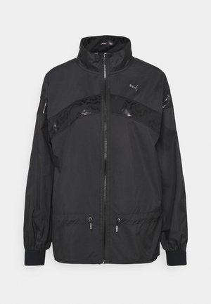 TRAIN JACKET - Verryttelytakki - black