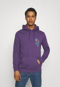 YOURTURN - UNISEX - Bluza z kapturem - purple - 2