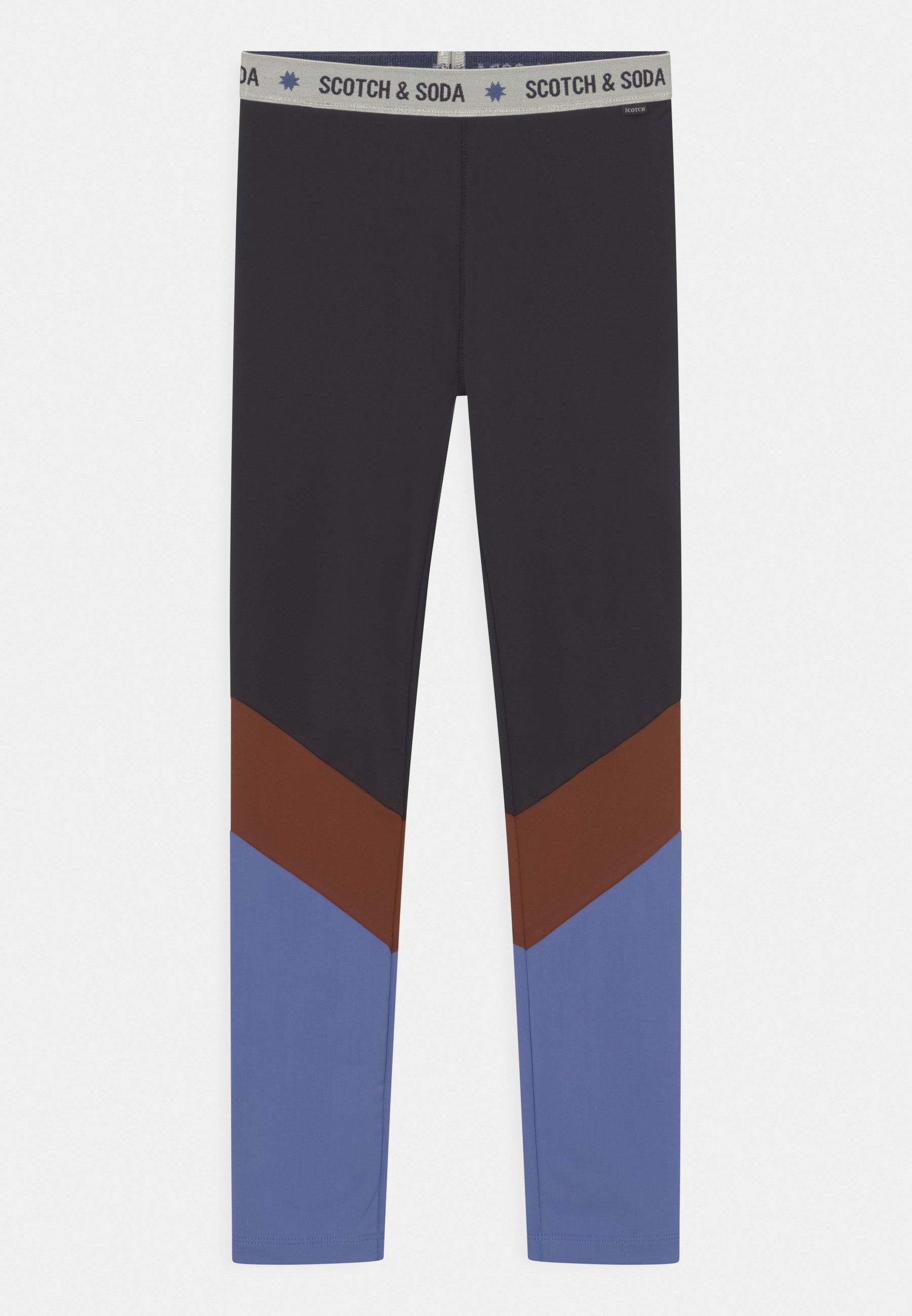 Kids COLOUR-BLOCK SPORT  - Leggings - Trousers