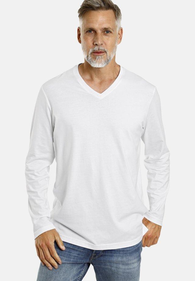 2 PACK - Long sleeved top - weiß