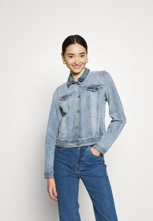IHSTAMPE - Denim jacket - washed light blue