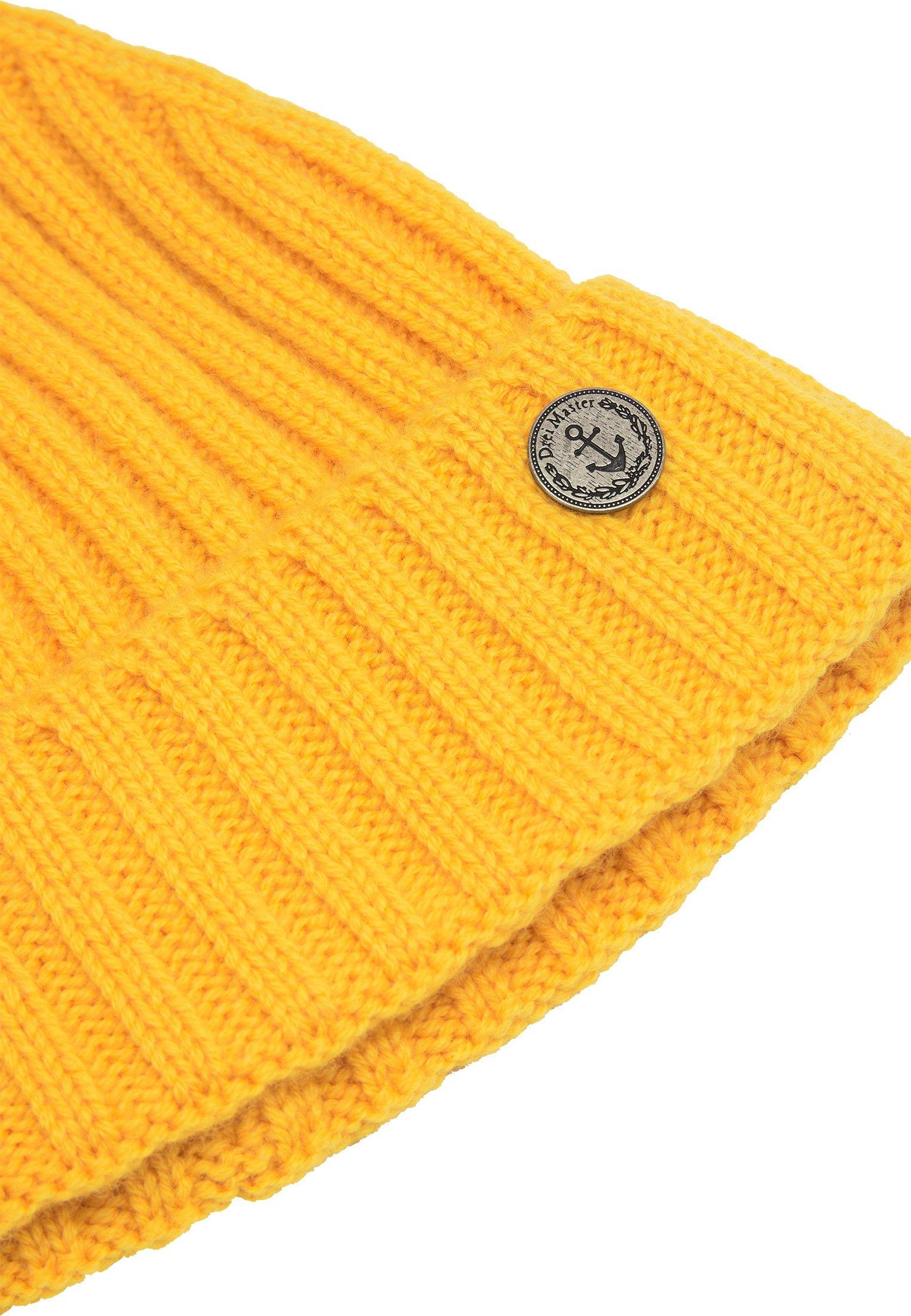Dreimaster Mütze - Curry/gelb