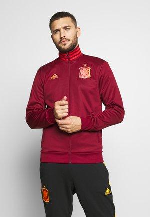 FEF SPANIEN TRK TOP - National team wear - bordeaux