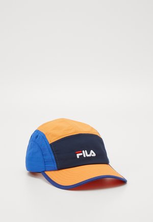 RETRO TRAIL WITH LINEAR LOGO - Caps - orange popsicle/dazzling blue/black iris