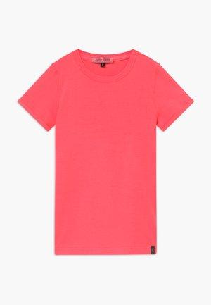KIDS IRVY - Triko spotiskem - neon pink