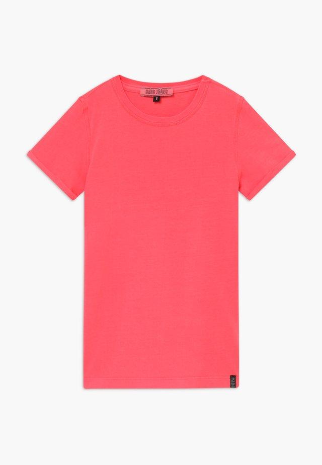 KIDS IRVY - T-shirt z nadrukiem - neon pink