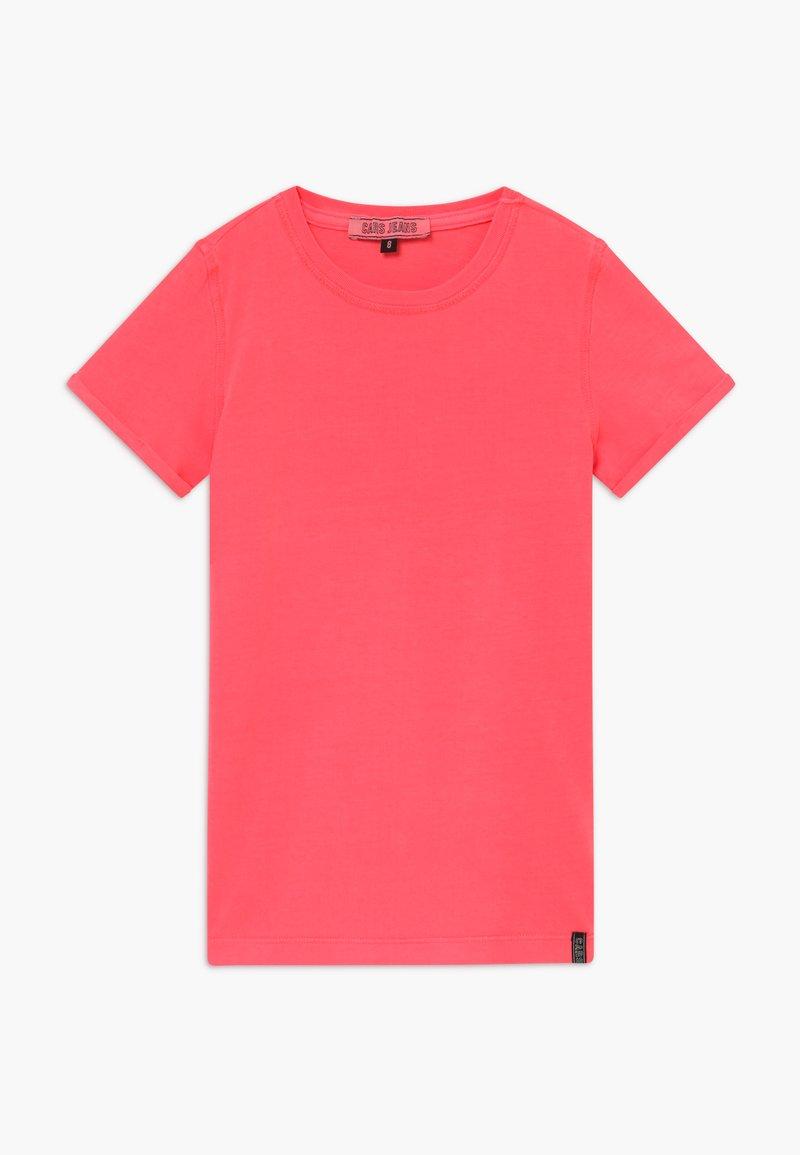 Cars Jeans - KIDS IRVY - Triko spotiskem - neon pink