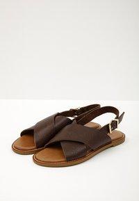 Inuovo - Sandaler - mntrl brown nbr - 4