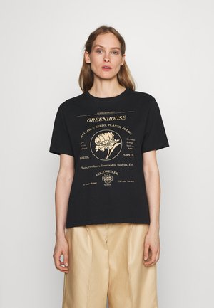 KJERAG TEE  - T-shirt print - black