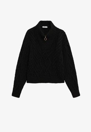 ZIPPO - Pullover - black