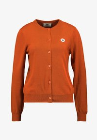 Wood Wood - FLO CARDIGAN - Cardigan - orange - 3