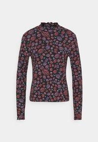Wrangler - LONGSLEEVE HIGH NECK - Long sleeved top - multi-coloured - 0