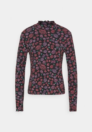 LONGSLEEVE HIGH NECK - Long sleeved top - multi-coloured