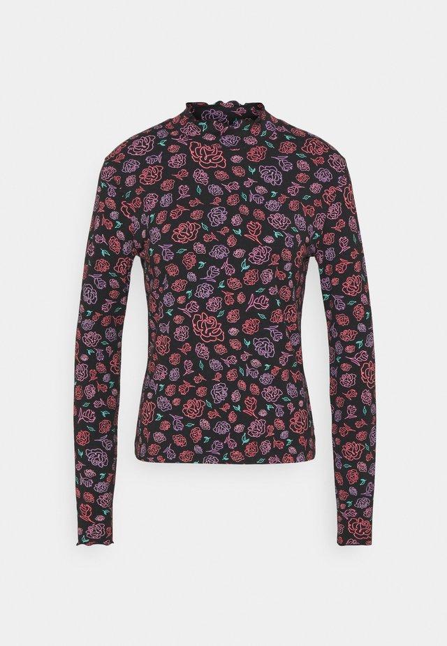LONGSLEEVE HIGH NECK - Bluzka z długim rękawem - multi-coloured