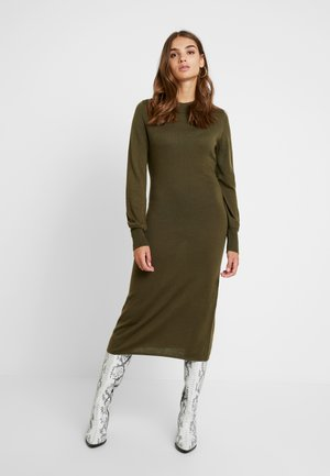 EXCLUSIVE KATE DRESS - Jumper dress - ivy green