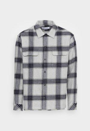 CASTOR - Skjorta - grey melange