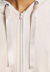 Vero Moda - VMATHENA - Zip-up hoodie - pumice stone - 7