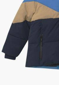Gosoaky - WORKING WEASEL UNISEX - Winter jacket - marina blue/multicolour - 2