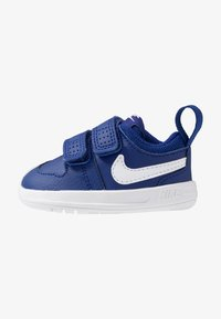 deep royal blue/white