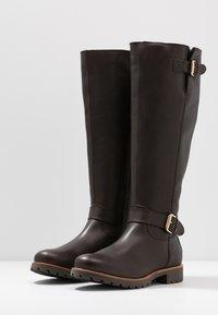 Panama Jack - AMBERES IGLOO TRAVELLING - Vysoká obuv - marron/brown - 4