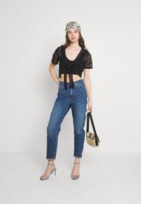 Even&Odd - MOM FIT - Jeans Skinny - blue denim - 1