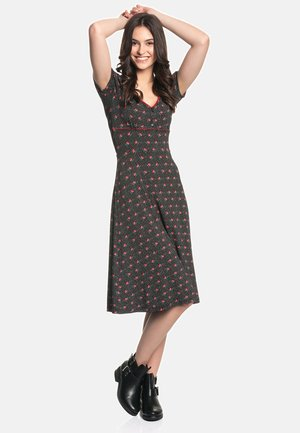 SUGAR ROSE  - Day dress - schwarz allover