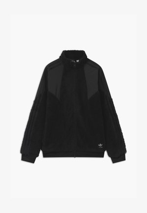 POLAR UNISEX - Fleece jacket - black