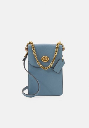 LIV PHONE CROSSBODY - Across body bag - azure