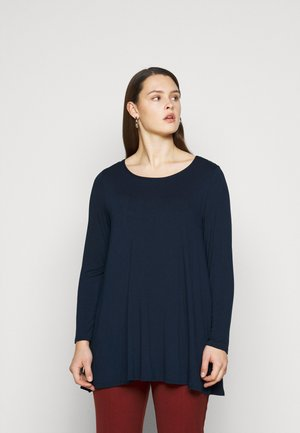 LONG SLEEVE TUNIC - Tunic - navy