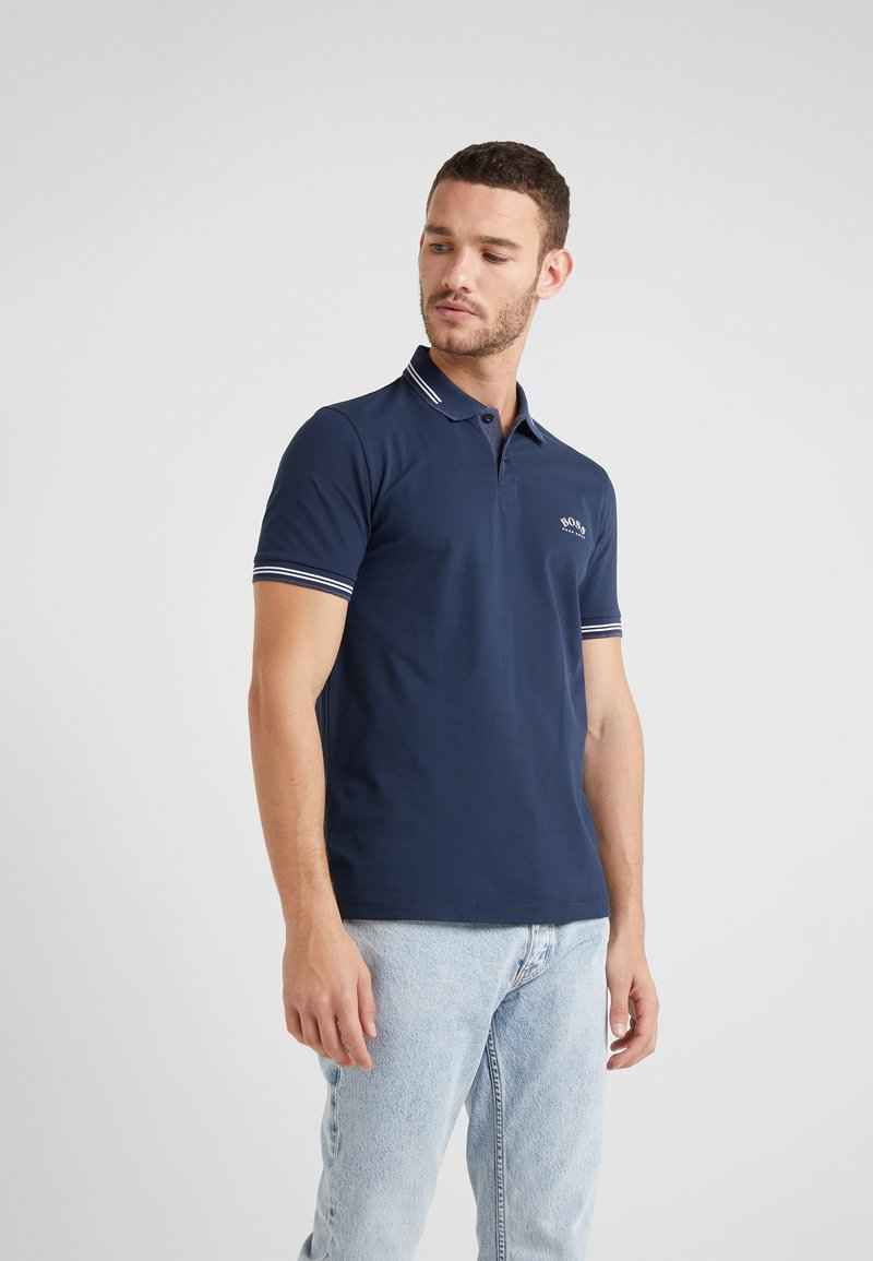 BOSS - PAUL CURVED  - Piké - navy