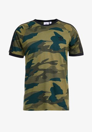 CAMO CALI SHORT SLEEVE GRAPHIC TEE - T-Shirt print - multicolor