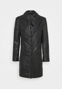 Goosecraft - KAI COAT - Krátký kabát - black - 5