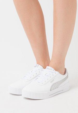 CARINA META20 - Sneaker low - white/silver