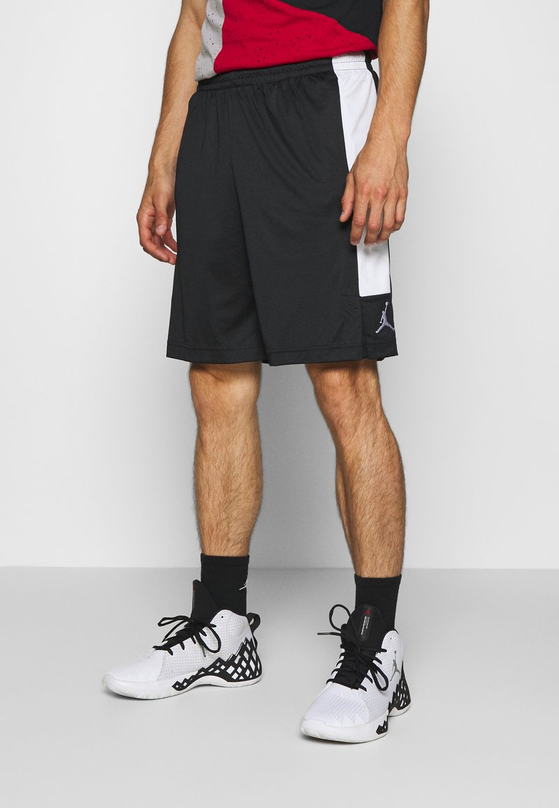 Jordan - AIR DRY SHORT - Sportovní kraťasy - black/white