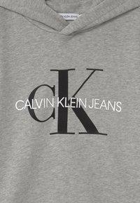 Calvin Klein Jeans - MONOGRAM HOODIE UNISEX - Hoodie - grey - 2