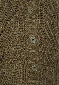 Pieces Curve - PCRACHEL CARDIGAN - Cardigan - grape leaf - 5
