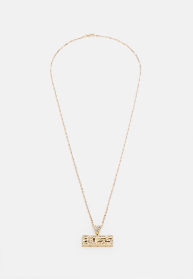 BOSS NECKLACE - Necklace - gold-coloured