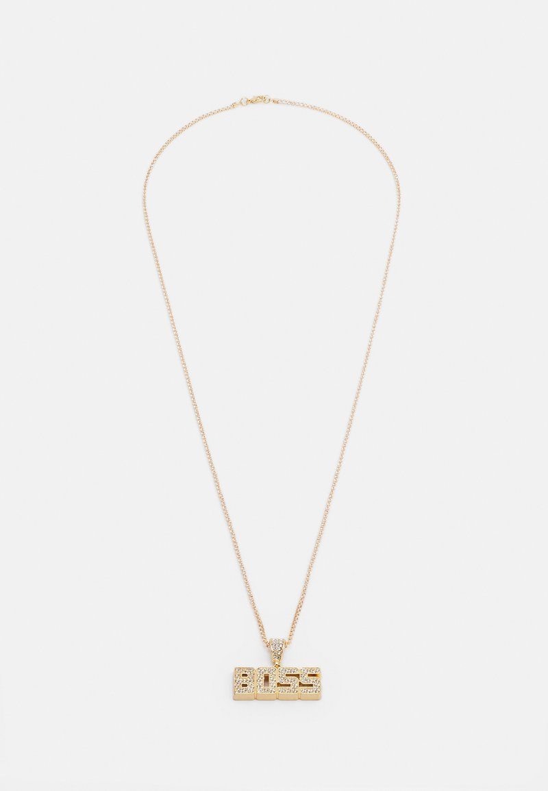Urban Classics - BOSS NECKLACE - Necklace - gold-coloured
