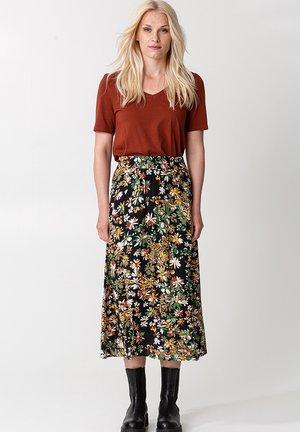 SIBEL  - A-line skirt - black