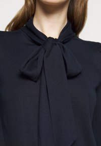 Lauren Ralph Lauren - TIE NECK - Jumper - navy - 5
