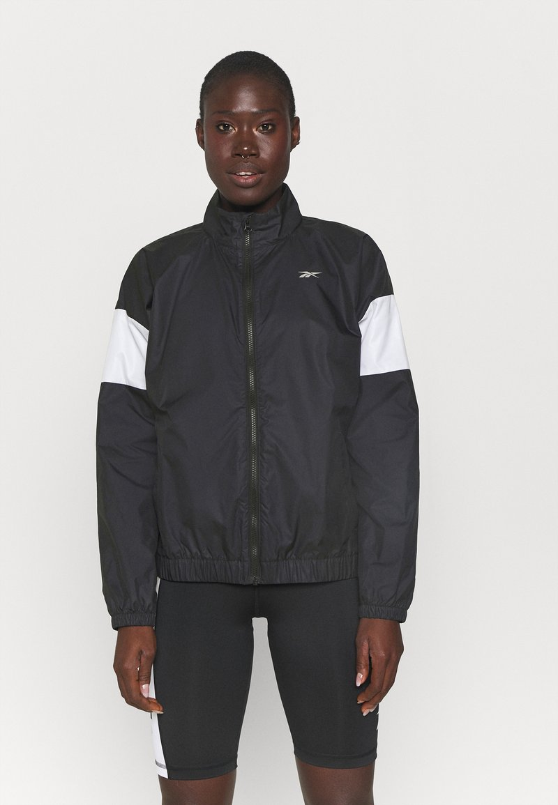 Reebok - LINEAR LOGO JACKET - Training jacket - black
