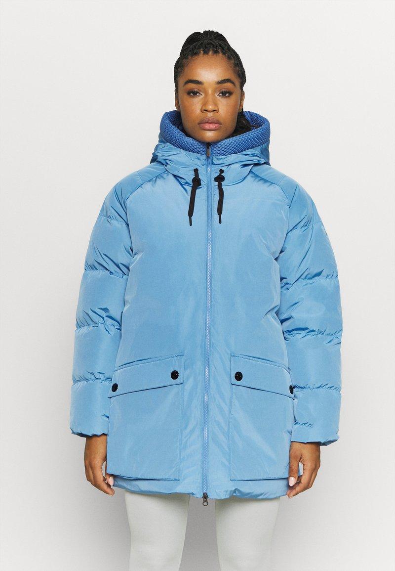 Peak Performance - STELLA JACKET - Down coat - blue elevation