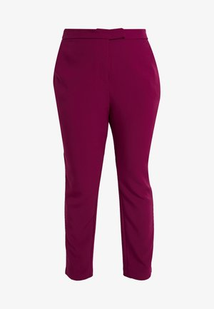 EXCLUSIVE PANT MRS DRAPER - Trousers - magenta