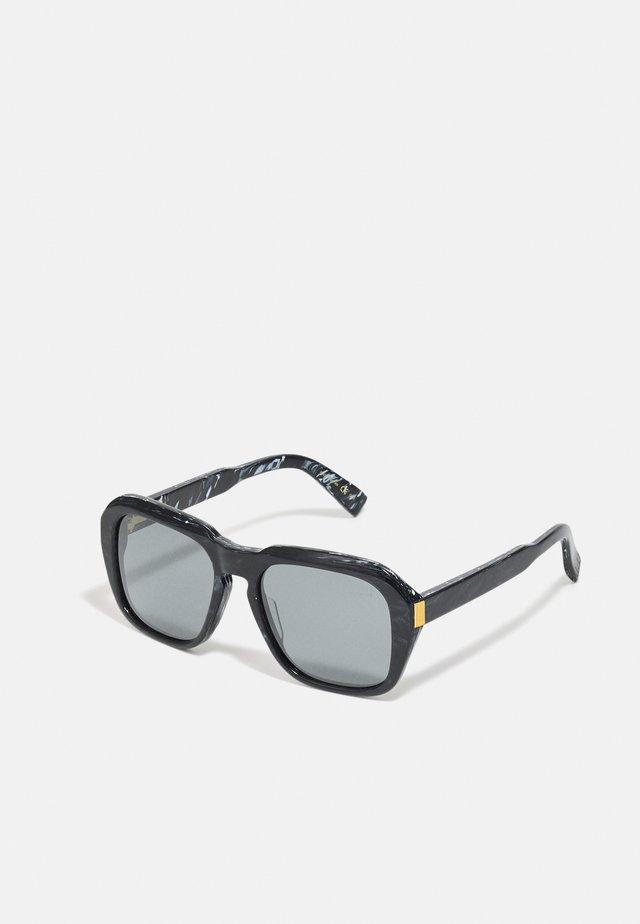 UNISEX - Sunglasses - black/silver-coloured